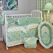 Burst Seagrass 3pc Crib Bedding Set