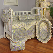 Burst Sterling 3pc Crib Bedding Set