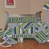 Lacrosse 3pc Crib Bedding Set