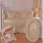 Missy Pink 3pc Crib Bedding Set