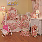 Paisley 3pc Crib Bedding Set