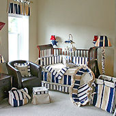 Rugby 3pc Crib Bedding Set