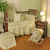 Sherbert Celery 3pc Crib Bedding Set