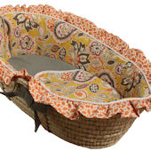 Hoohobbers Flirty Flowers Yellow Basket