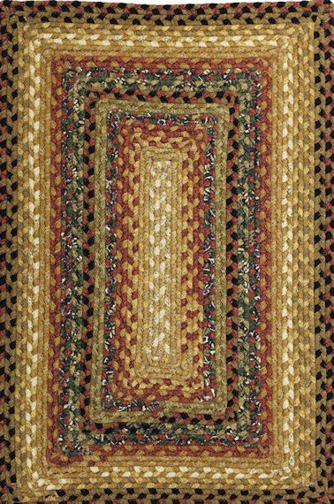 Home Spice Peppercorn Cotton Braided Rug