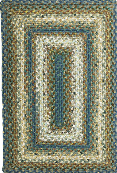 Home Spice Smugglers Cove Cotton Braided Rug