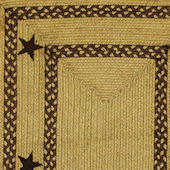 Home Spice Texas Brown Jute Braided Rug