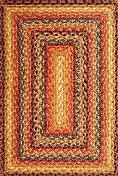 Home Spice Timber Trail Jute Braided Rug
