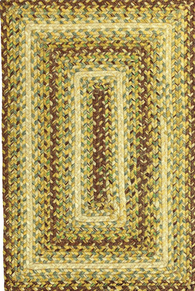 Home Spice Country Walk Outdoor Braided Rug