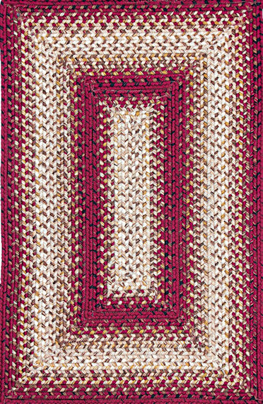 Home Spice Jasper Outdoor Braided Rug