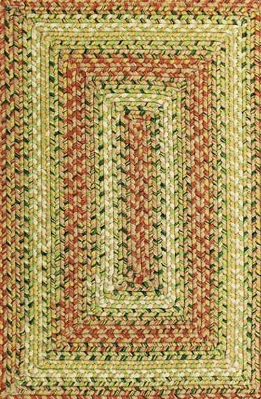 Home Spice Tuscany Outdoor Braided Rug