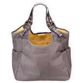 Slate Citron  Satchel Diaper Bag