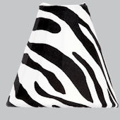 Jubilee Bell Shaped Zebra Print Nightlight
