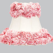 Jubilee White With Pink Rose Garden Large Shade