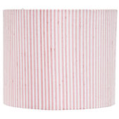 Jubilee Pink And White Round Drum Large Shade