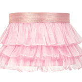 Jubilee Ruffled Skirt Pink Large Shade