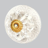 Jubilee Circle Knob Multiple Colors Available