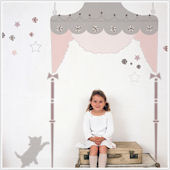 Juliette Giant Headboard Wall Sticker