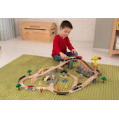 Kid Kraft Bucket Top Construction Train Set