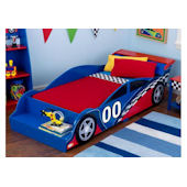 Kid Kraft Race Car Toddler Bed