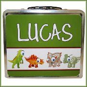 Personalized Children's Name Lunchbox