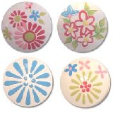 Daisy Crazy Drawer Knobs