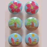 Girls Surf Drawer Knobs