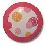 Hot Pink Polka Dots Drawer Knobs