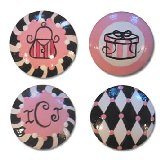 Pink Paris Mix Customizable Drawer Knobs