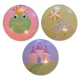 Princess Frogs Wands and Castles Drawer Knobs