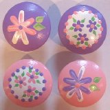 Spring Lavender and Pink Mix Drawer Knobs