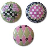 Whismical Checkers Drawer Knobs