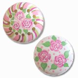 Whimsical Roses Drawer Knobs