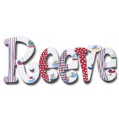 Regatta Hand Painted Wall Letters