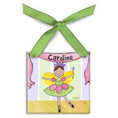 Fairy Ballerina  Personalized Ornament