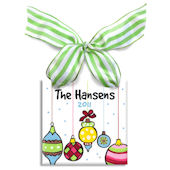 Hanging Ornaments  Personalized Ornament