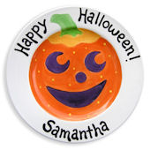 Happy Halloween  Personalized Plate