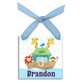 Noahs Ark Boy  Personalized Ornament