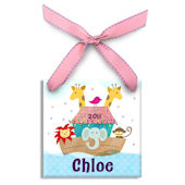 Noahs Ark Girl  Personalized Ornament