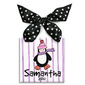 Penguin Girl  Personalized Ornament