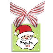 Santa Boy Personalized Ornament