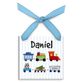 Toy Train  Personalized Ornament