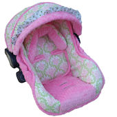 Nollie Olivia Infant Car Seat Cover