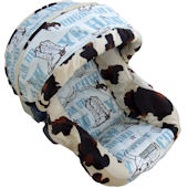 Nollie Rodeo Infant Car Seat Cover