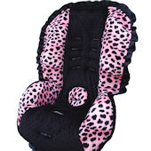 Nollie Girly Spots Toddler Car Seat Cover