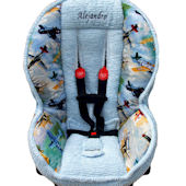 Nollie Kent Chenille Toddler Car Seat Cover