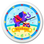 Olive Kids Big Top Personalized Clock