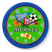 Olive Kids Game On Personalized Clock