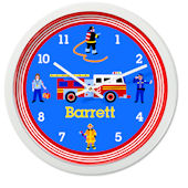 Olive Kids Heroes Personalized Clock