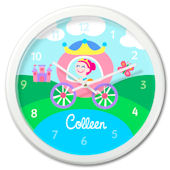 Olive Kids Princess Personalized Clock